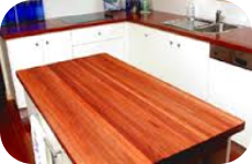 Timber Kitchen Bench tops